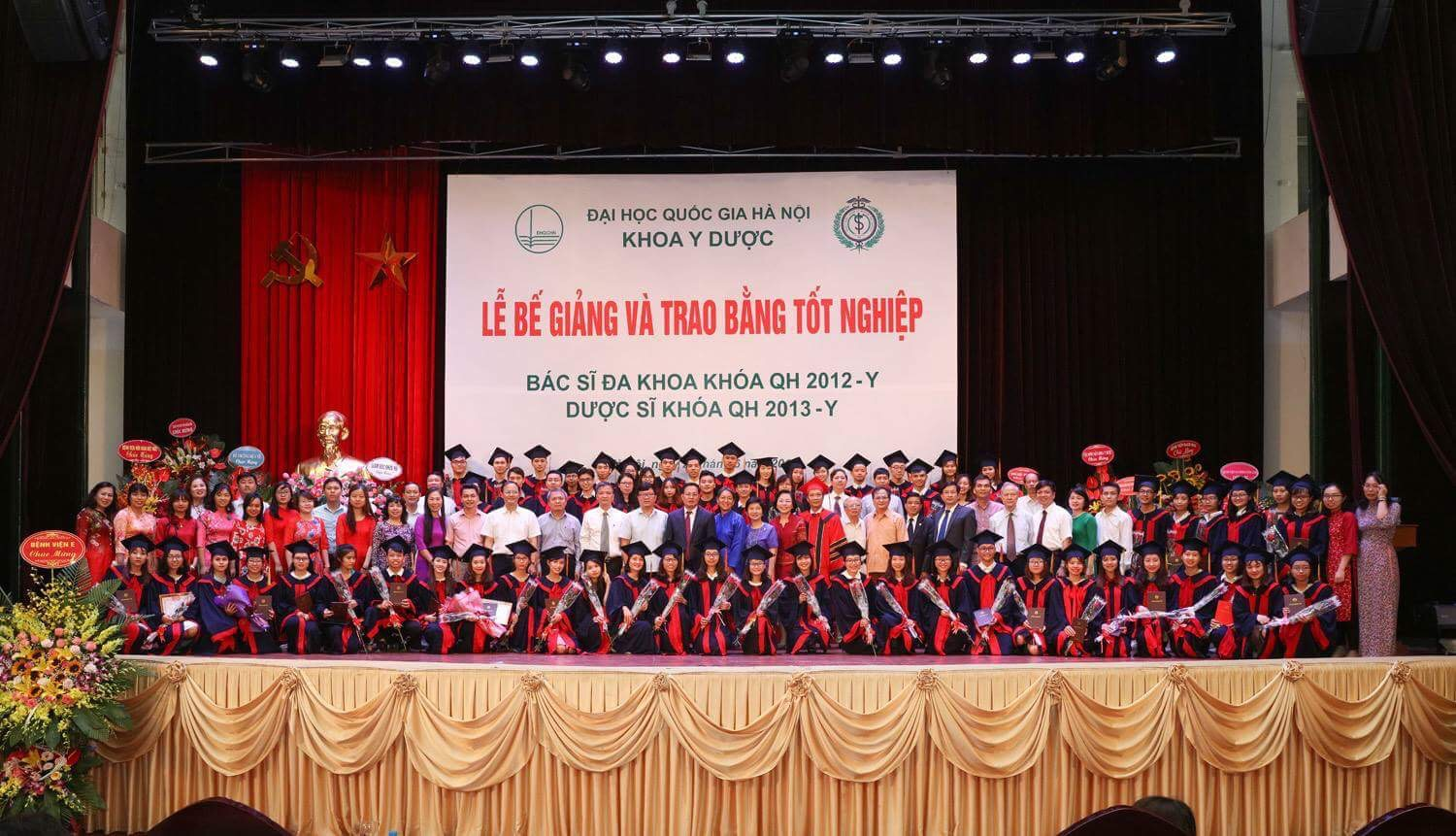 First Graduation Ceremony at the VNU-SMP, Hanoi, June 2018