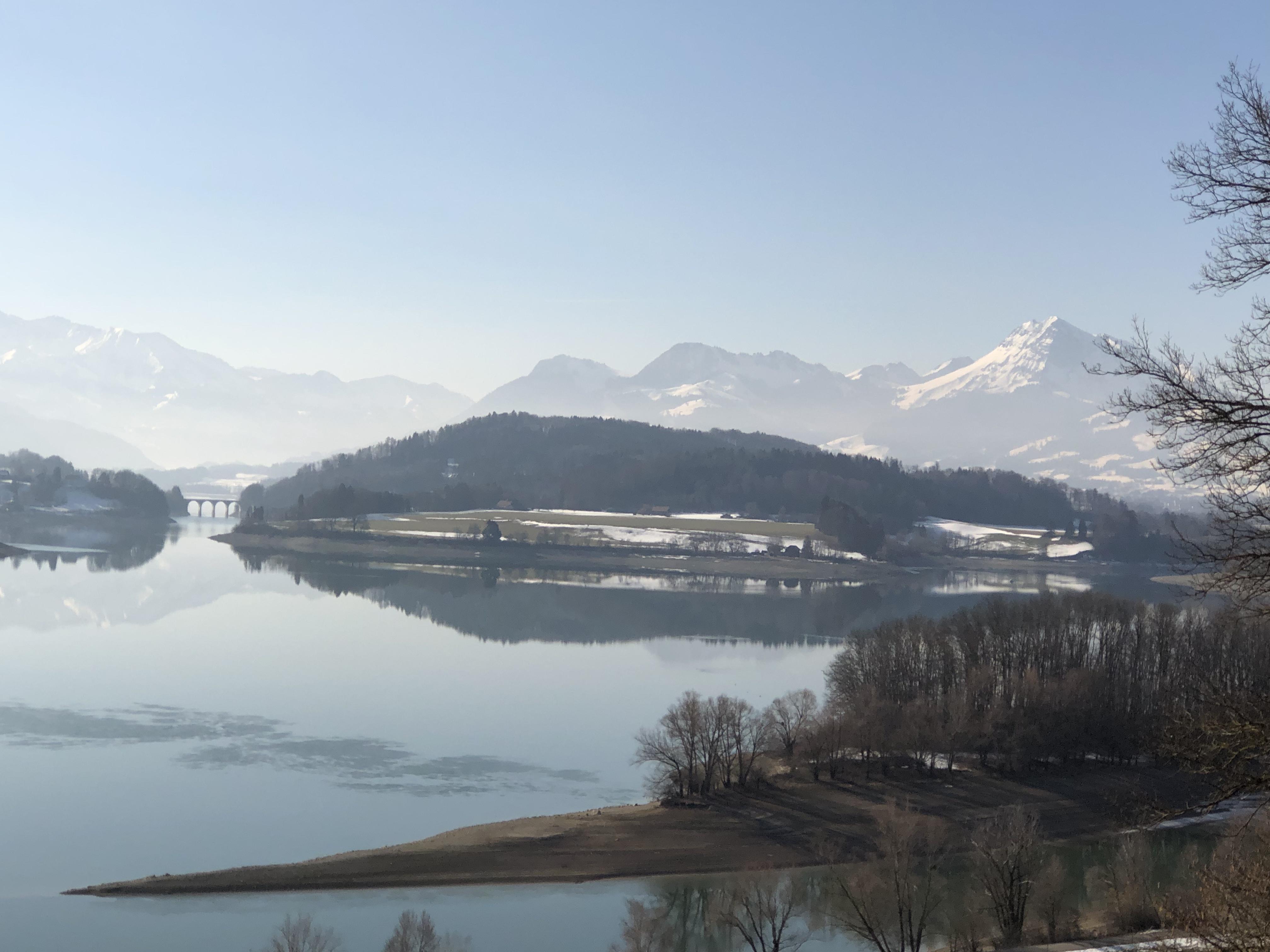 Lake of Gruyère- Switzerland 2019