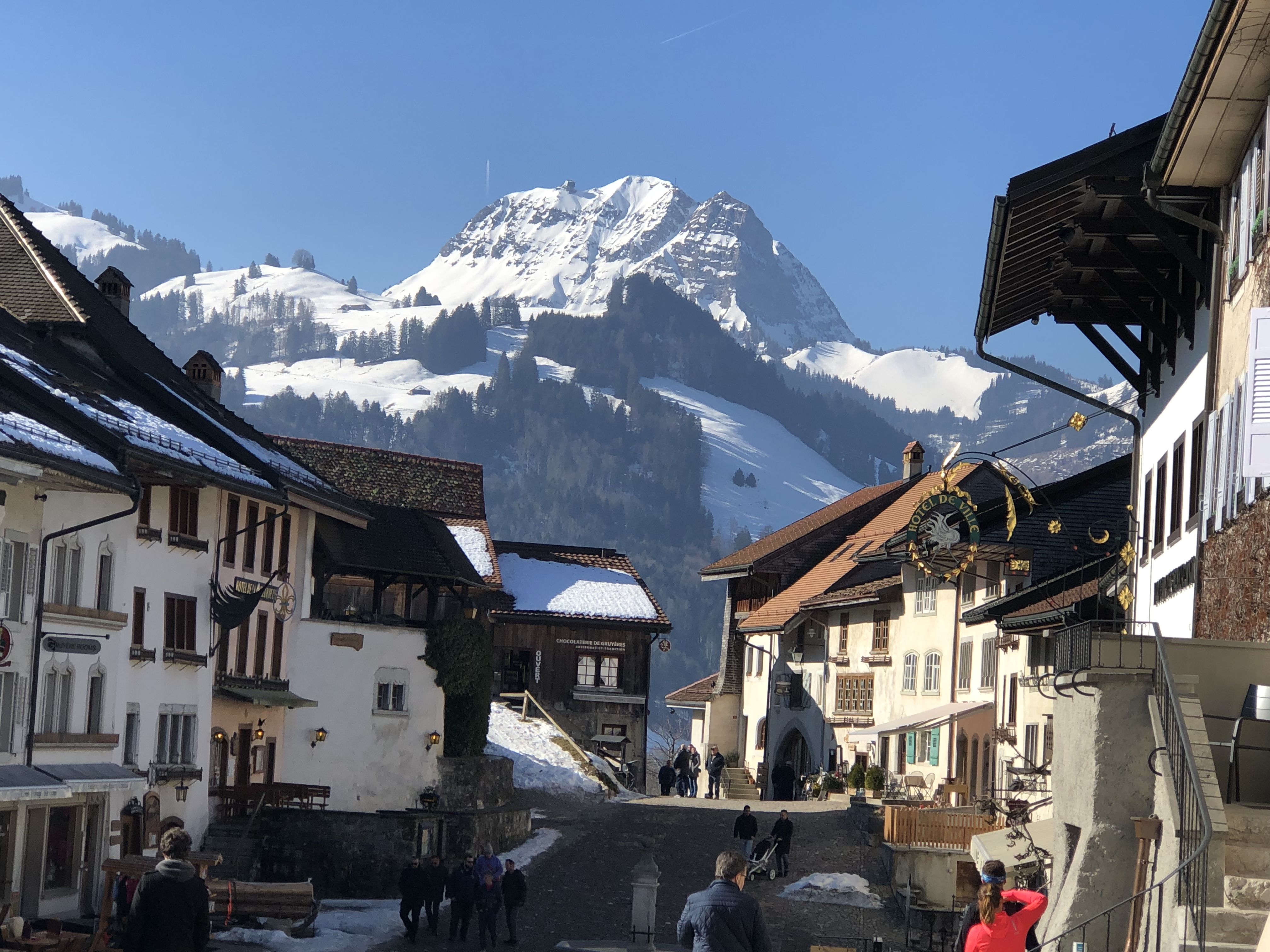 Castle of Gruyère- Switzerland 2019